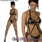 Strappy PVC Harness Style Body